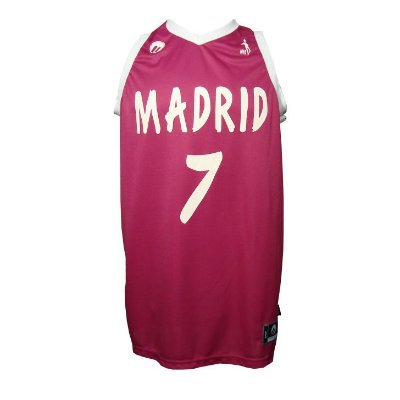Regata Basquete Madrid 7 Pink