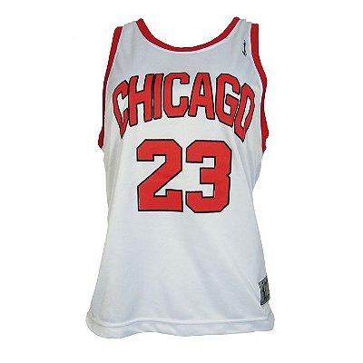 Reg Basq Fem Chicago 23 Branco