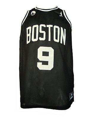 Regata Basquete Boston 9 furad Preto
