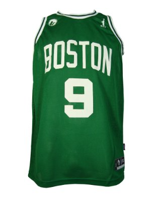 Regata Basquete Boston 9 furad Verde