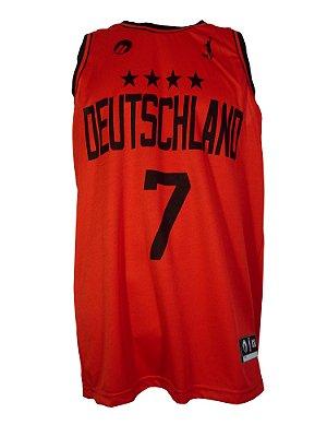 Regata Basquete Alemanha 7 C Vermelho