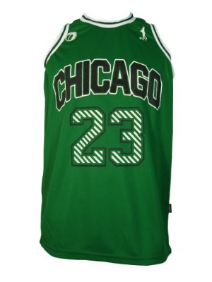 Regata Basquete Chicago 23 alternate Verde
