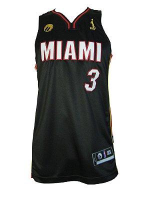 Regata Basquete Miami 3 pro Preto