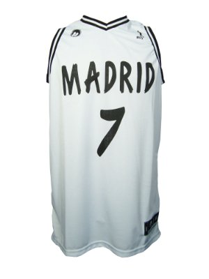 Regata Basquete Madrid 7 Branco