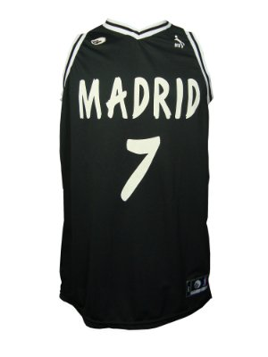 Regata Basquete Madrid 7 Preto