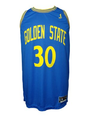 Regata Basquete Golden State 30 Azul Royal