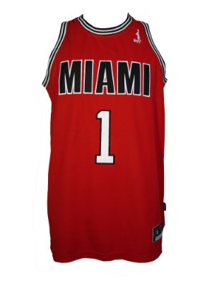 Regata Basquete Miami 1 pro Vermelho