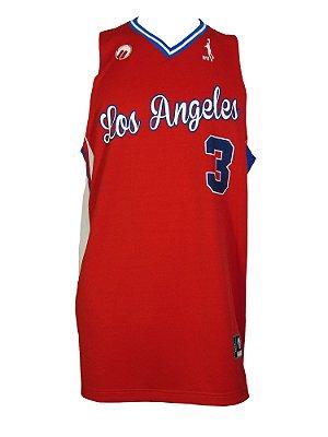 Regata Basquete Los Angeles B 3 V Vermelho