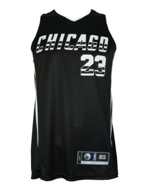 0e59a5660 Regata Basquete Chicago 23 reversivel Preto