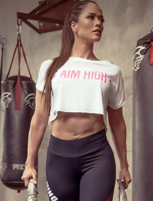 Blusa Aim High White Superhot