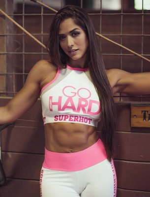 Top Go Hard Pink Superhot