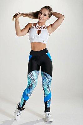 Legging Extreme Blue Let's Gym