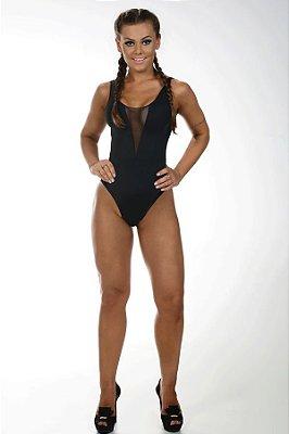 Body Tela Black Let's Gym