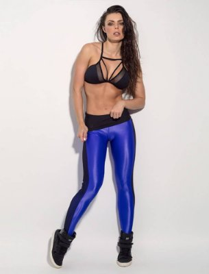 Calça Legging Brutal Deep Blue Superhot