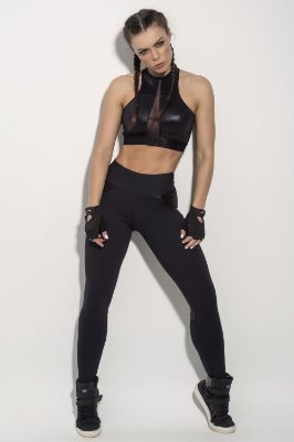 Calça Legging Unbroken All Black Superhot