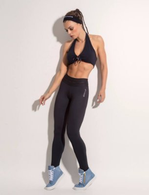 Calça Legging Empowerment Black Superhot