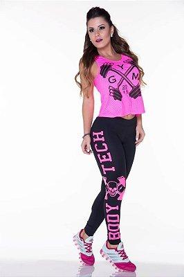 Legging  Black Pink 2237 Lipsoul Girls