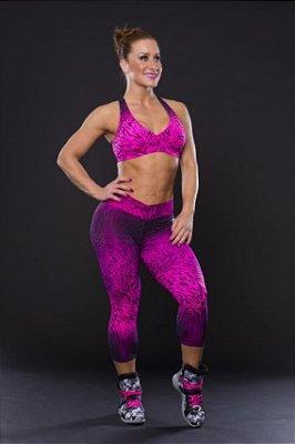 Conjunto Legging e Top Bojo Skin Pink Canoan