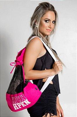 Bolsa Mochila Stipp Pink Hipkini