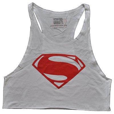 Regata Feminina Superman White
