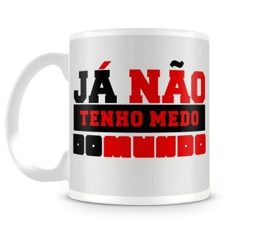 Caneca Marcelo Camelo - Já não tenho medo