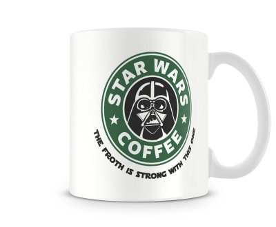 Caneca Star Wars - Darth Vader Coffee