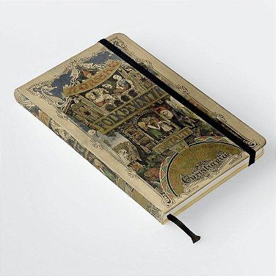 Caderneta com elástico Norske Folkeeventyr