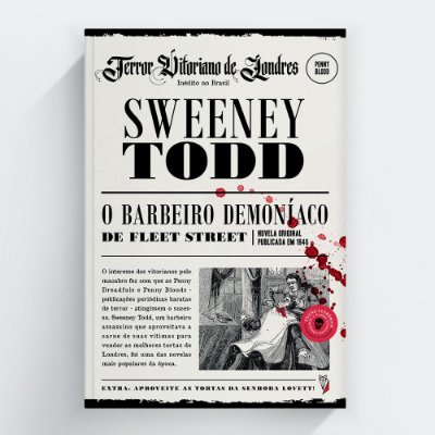 Edição Econômica de Halloween! Sweeney Todd, o Barbeiro de Fleet Street