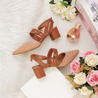 Sapato Scarpin Nobuck