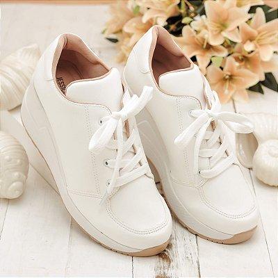 Tênis Sneaker Branco Napa Sintético Jessica Mello