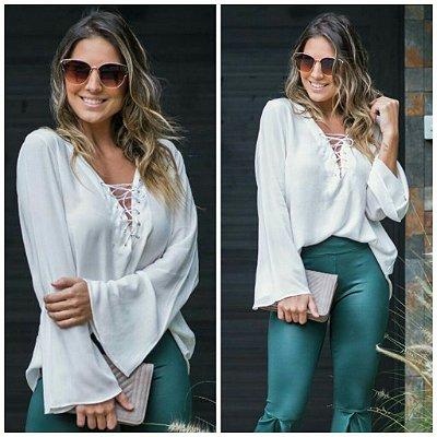 Camisa Realeza Off White