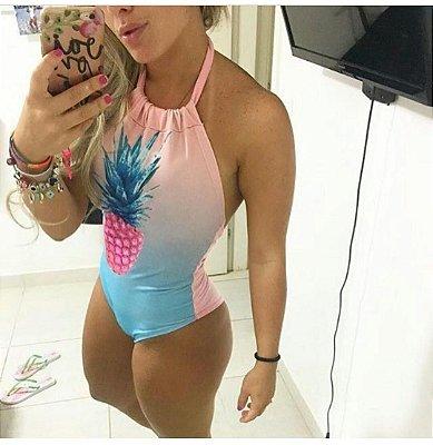 Body Abacaxi Multicolor