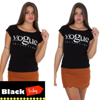 Camiseta VOGUE Collection