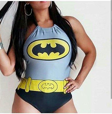 Body Temático Bat Girl Frente Única
