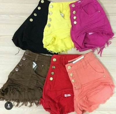 Shorts Jeans Colors