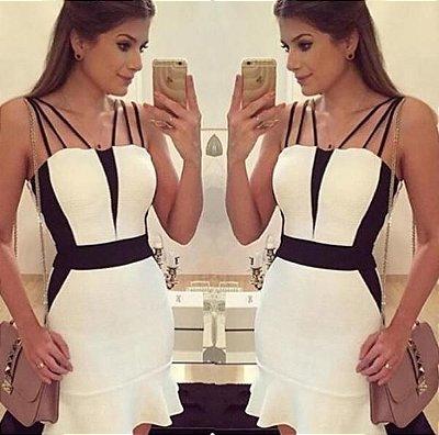 Vestido Clássico P&B