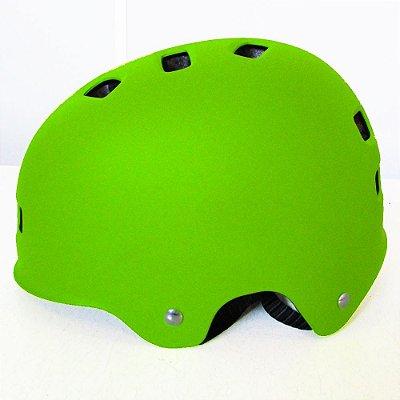 Capacete KIT LIVRE - BMX - Verde Limão