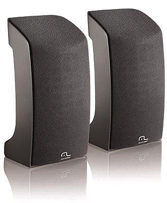 Caixa De Som 2.0 1w Rms Compact Usb Multilaser