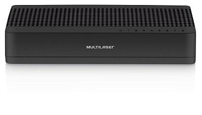 Switch Mini Multilaser 8 Portas Soho RE308