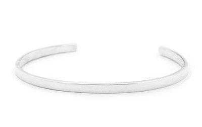 Pulseira De Prata Masculina Artesanal estilo Bracelet - Cod P199
