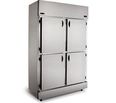 Refrigerador Comercial em Aço Inox 4 Portas RC-4 - Conservex