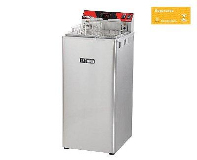 Fritadeira Elétrica 8000w Digital Zona Fria FZ28-D Croydon