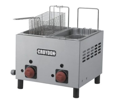 Fritadeira Gás (2x3 litros) - F2AG Croydon