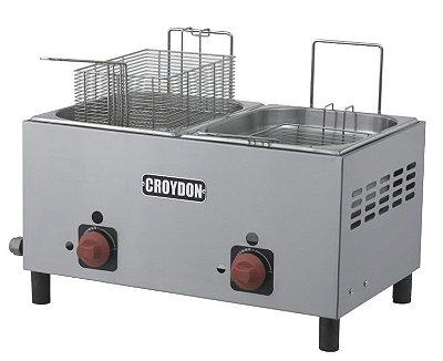 Fritadeira Gás (2x4,5 litros ) - F2BG Croydon