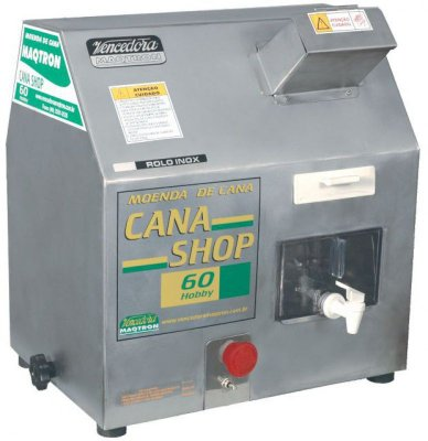 Moedor de Cana Elétrico Cana Shop 60 Elétrica - Maqtron