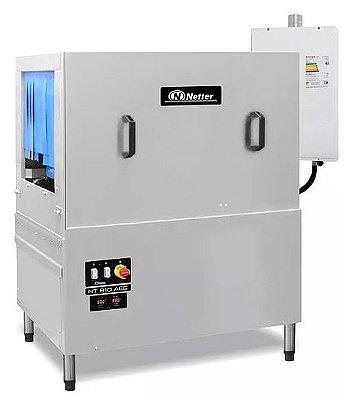 Lavadoras com aquecimento de água e gás NT 810 S AEG - Netter