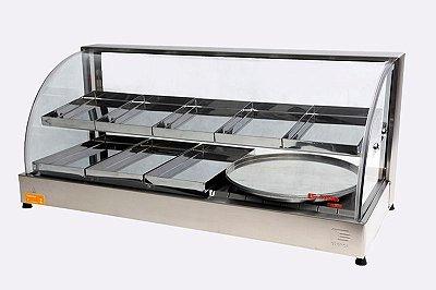 Estufa Linha Diamante - Com Porta Pizza Edanca