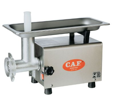 Picador de Carne CAF 8 Inox - Caf Máquinas