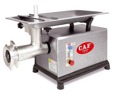 Picador de Carne CAF 98 S 2 CV Inox - Caf Máquinas