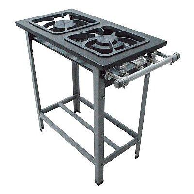 Fogão Industrial a Gás de Baixa Pressão M6 S2000 Módulo - Metal Maq